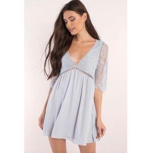 TOBI Niall Grey Day Dress︱Size M